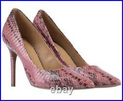 MICHEAL KORS Pink Reptile Effect Court Shoe UK 4 US 6 EUR 37.5 RRP £190