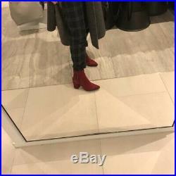 MK michael kors Lederstiefeletten mit Blockabsatz Damen Gr 37 dawson mid bootie