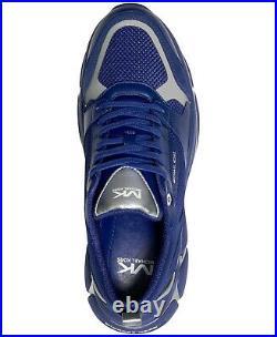 Men's Michael Kors Ethan Mesh Athletic Shoes Dark Blue Size US 10 MSRP $228 B4HP