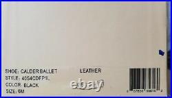 Michael KORS CALDER BUCKLE MK LOGO BLACK BALLERINA FLATS US 6 8 I LOVE SHOES