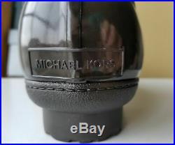 Michael KORS EASTON LOGO EMBOSSED WATERPROOF SHEARLING BOOTS US 10 I LOVE SHOES