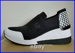 Michael KORS FELIX CHECKERBOARD MK LOGO Trainer Sneakers US 9.5 10 I LOVE SHOES