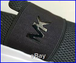 Michael KORS FELIX MK Logo Black Mesh GLITTER Trainer Sneakers I LOVE SHOES