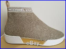 Michael KORS GROVER 2 Colors Slip On Stretch Knit Fabric Sneakers I LOVE SHOES