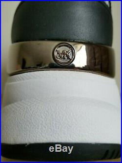 Michael KORS MICKEY Iconic Black MK Logo Sneakers US 7 9 10 I LOVE SHOES