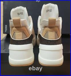 Michael KORS Olympia Platform Wedge Sneakers Sz 9.5 Signature Logo Shoes new