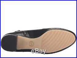 Michael Kors $199 Sabrina MID Ankle Smooth Leather Round Toe Bootoie- Bk- 8, 11