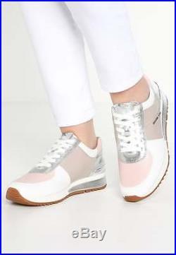 Michael Kors ALLIE WRAP cement /soft pink Sneaker Schuhe Gr. 36 Neu Damen