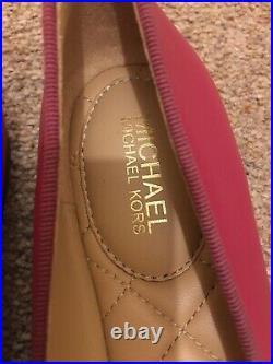 Michael Kors Alice Ballet Pump Shoes Pink, Size UK 3, BNIB, RRP £115