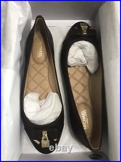 Michael Kors Alice Padlock Ballet Flat Shoes UK4.5 BNIB