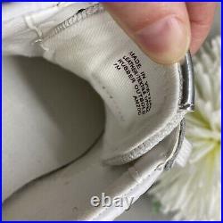 Michael Kors Allie Trainer Extreme Mixed Media MK Logo Lux Sneaker Shoe Sz 7
