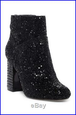 Michael Kors Arabella Glitter Crystal Studded Heels Booties Us 8.5 I Love Shoes
