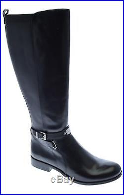 Michael Kors Arley Leather Women Boots Black, 6 New