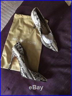 Michael Kors Authentic Womens shoes, Genuine SnakeNew, Size38,5. RRP £380,00