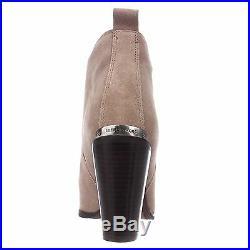 Michael Kors BRANDY Dark Dune Ankle Short Boots Bootie Shoes Multi Size NIB