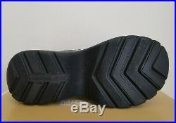 Michael Kors Barlow Black Mk Logo Sport Platform Sandals Us 10 I Love Shoes