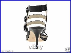 Michael Kors Beverly Sandal Black Leather Womens Strappy Shoes Multisizes