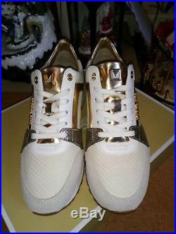 Michael Kors Billie Trainers Gold 2018 Size 5.5