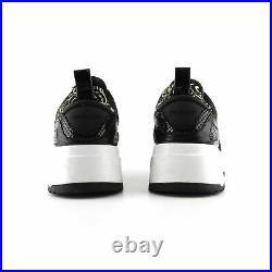 Michael Kors Black Rhinestone Pavé Slip On Sneakers Shoes sz 7 37