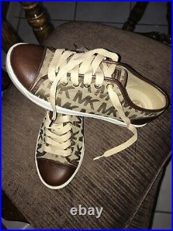 Michael Kors Brown Tennis Shoes, Womens Size 7M