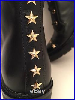 Michael Kors Cody Black Lesther Boot Size 8M NEW