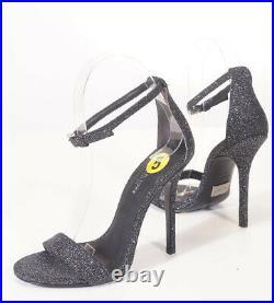 Michael Kors Collection Jacqueline Womens Black Glitter Heels Shoes 35 5