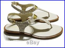 Michael Kors Damen Schuhe Sandalen ML Plate Thong -US 9M / EU39,5