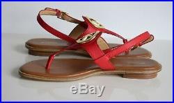 Michael Kors Damenschuhe Sandalen Neu mit Karton chili Größe 37 38 39 40
