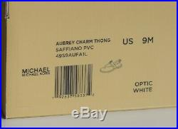 Michael Kors Damenschuhe Sandalen Neu mit Karton optic white Größe 39