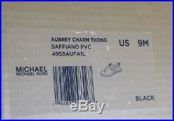 Michael Kors Damenschuhe Sandalen Neu mit Karton schwarz Größe 38 39