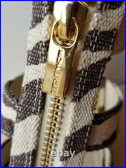 Michael Kors Damita Iconic Mk Zipper Tiger Print Espadrilles Wedges I Love Shoes
