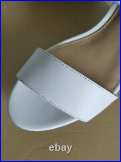 Michael Kors Deanna Iconic White Gold Mk Logo Sexy Wedges 7.5 8 I Love Shoes Fr
