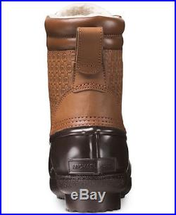 Michael Kors EASTON Dark Caramel MK Embossed Ankle Boots Bootie Shoes Multi Size