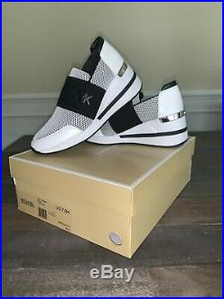 Michael Kors Felix Trainer Wedge Sneakers Sz 7.5