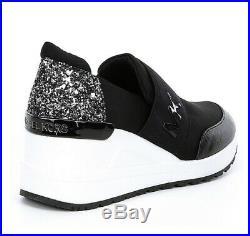 Michael Kors Felix or Neo Trainer Kids 5, Black, womens Size 7