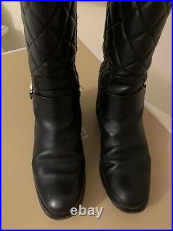 Michael Kors Fulton Harness Boots Shoes High Top Ankle Boots -size 3