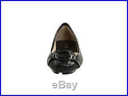 Michael Kors Fulton Moc Black/Black Ballet Flat 7.5 M