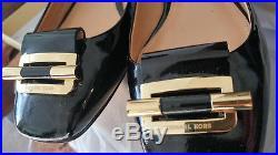 Michael Kors Gloria ballet patent black shoes, size 6, brand new