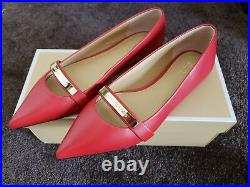 Michael Kors Jess Flat Leather Shoes 6M Brand New in Box