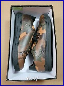 Michael Kors Keating Camo Leather Men's Shoe Sz 12 Brand New Box Missing Lid