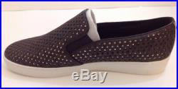 Michael Kors Keaton Star-Perforated Slip-On Sneakers In Brown In Women Size 11