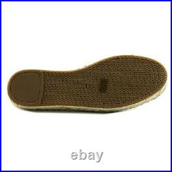 Michael Kors Kendrick Slip-On Espadrille Flat Shoes Size 8.5 Black