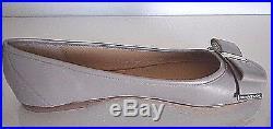 Michael Kors Kiera Women's Leather Flat Size 7.5 New