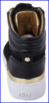 Michael Kors Kyle Womens Black Leather High Top Fashion Sneakers size 8