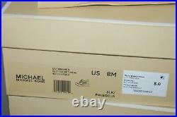 Michael Kors LIV Trainer Glitter Net Mesh Wedge Sneakers Shoes 43tolvfs6d $155
