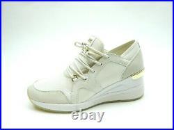 Michael Kors LIV Trainer Sneaker Cream Women Shoes Size 8.5