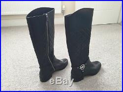 Michael Kors Ladies Black Knee High Boots