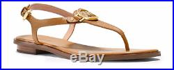 Michael Kors Lee Thong Acorn Ankle Strap Buckle Sandal Women's sizes 6-11/NEW