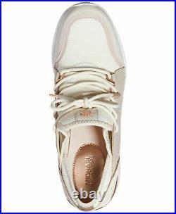 Michael Kors Liv Trainer Women's Size 8M Light Cream Multi Sneaker Shoes NEW Box