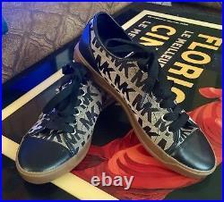 Michael Kors Logo Black Tennis Shoe Size 8 New without box